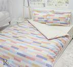 Спално бельо памучен сатен Талия нова