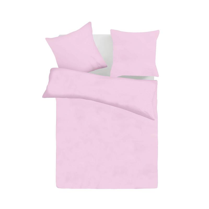 Eдноцветно спално бельо - светло лилаво