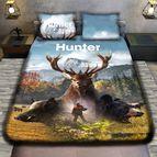 3Dспално бельо с ловджийски мотиви - HUNTER