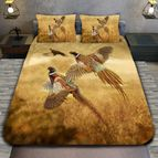 3Dспално бельо с ловджийски мотиви - Gold Pheasant