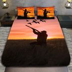 3Dспално бельо с ловджийски мотиви - Hunter duck