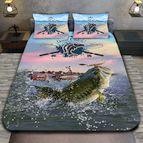 3Dспално бельо с ловджийски мотиви - Fishing
