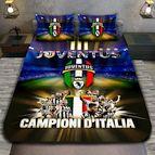 3Dспално бельо Футбол - Juventus