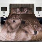 3Dспално бельо с Животни - Wolfs