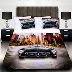 3Dспално бельо с Коли - BMW