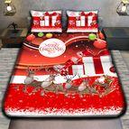Коледно 3D спално бельо - MERRY CHRISTMAS REGALO
