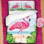 Детско 3D спално бельо - Flamingo