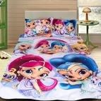 Детско 3D спално бельо - Shimmer And Shine