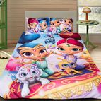 Детско 3D спално бельо - Shimmer And Shine 2