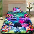 Детско 3D спално бельо - Trolls