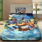 Детско 3D спално бельо - 1016