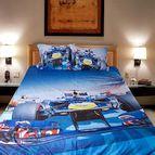 Детско 3D спално бельо - Formula 1