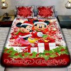 Детско 3D спално бельо - Christmas Maus Regallo