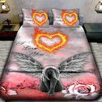3Dспално бельо Романтични - Огнен ангел