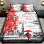 3Dспално бельо Романтични - Лондон