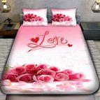 3Dспално бельо Романтични - LOVE