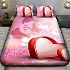 3Dспално бельо Романтични - Kiss