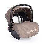 Детско столче-кошничка за кола Luxor 0-13 kg - бежов