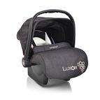 Детско столче-кошничка за кола Luxor 0-13 kg - черен