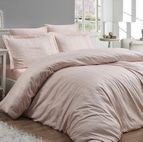 Луксозен спален комплект памучен сатен, жакард - ATHENA SOMON