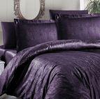 Луксозен спален комплект памучен сатен, жакард - ATHENA MOR