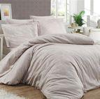 Луксозен спален комплект памучен сатен, жакард - HERRA SAMPANYA