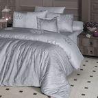 Луксозен спален комплект VIP сатен - MIRABEL GRY