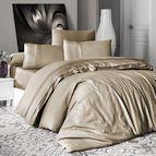 Луксозен спален комплект памучен сатен Deluxe - SQUARE STYLE BAD