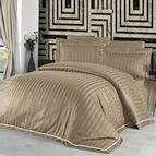 Луксозен спален комплект памучен сатен Deluxe - NOVEL LINE BADEM
