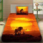 Детско 3D спално бельо - 6424