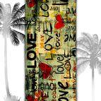 3D Плажни кърпи Summer - Love