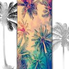 3D Плажни кърпи Summer - PALMS SPING