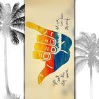 3D Плажни кърпи Summer - HAPPY