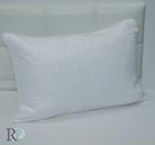 Декоративна калъфка Розета - Бяло