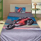3Dспално бельо с Мотори - Speed Bike