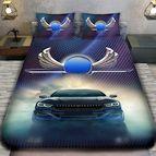 3Dспално бельо с Коли - 6893 + надпис