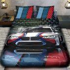 3Dспално бельо с Коли - 4975 + надпис