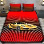 3Dспално бельо с Коли - 4990 + надпис
