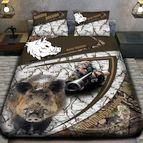 3Dспално бельо с ловджийски мотиви - Ловец