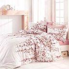 Спално бельо - Time pink кафяв