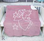 Бебешко памучно одеяло - Ангелче