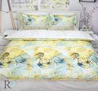 Луксозен спален комплект памучен сатен - Анелия