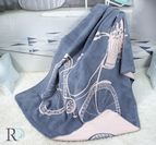 Одеяло памук - Колело