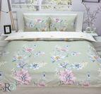 Спално бельо памучен сатен Елина