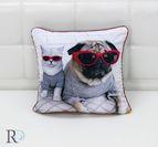 Декоративнa Възглавница Куче и Коте