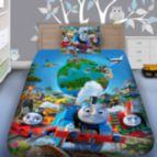 Детско 3D спално бельо - Влакчето Томас 7201
