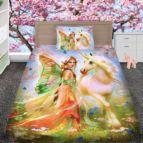 Детско 3D спално бельо - Еднорог