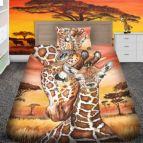 Детско 3D спално бельо - Жираф