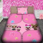 Детско 3D спално бельо - ЛОЛ