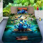 Детско 3D спално бельо - Папагал